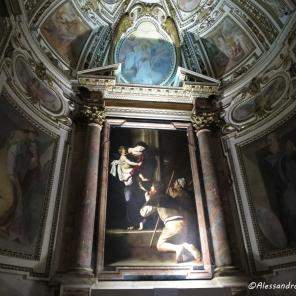 Caravaggio: Madonna dei Pellegrini Chiesa S.Agostino - Roma