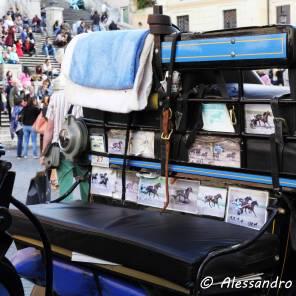 Interno di una Botticella - Piazza di Spagna - Roma